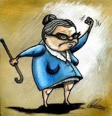 پیرزنها را دست کم نگیرید!!!