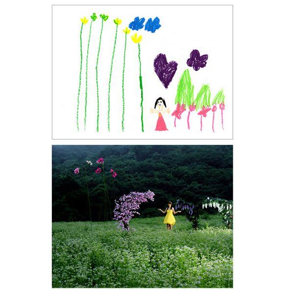 کودکان در حقیقت چه چیزی را نقاشی می کنند؟