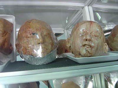 شیرینی هایی به شکل اعضای بدن