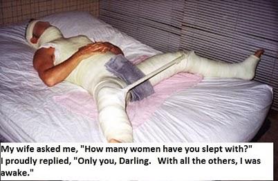 با چند تا زن تا حالا خوابیدی؟