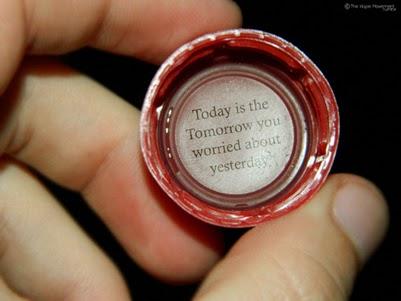 امروز همان فردایی است که شما نگران دیروز بودید!