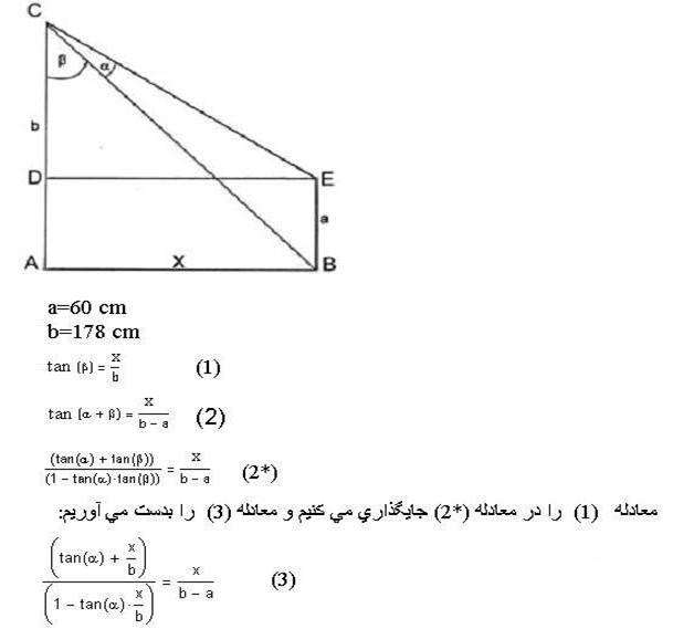 معادله ریاضی دید زدن دخترها …….!