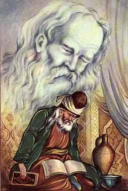 مولانا و شمس