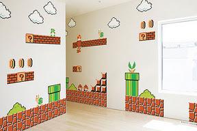دیوار سوپر ماریو