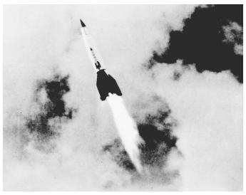 آلمان نازی،اولین قدرت موشکی تاریخ