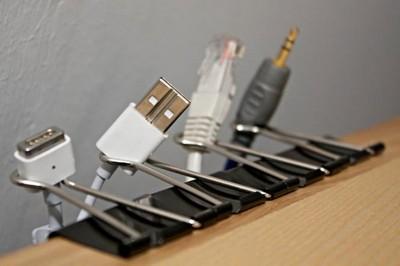 حل مشکل  کابلهای اضافی کامپیوتر