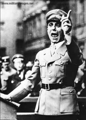 گوبلز، وزیر تبلیغات آلمان نازی، نابغه ی جنگ رسانه ای
