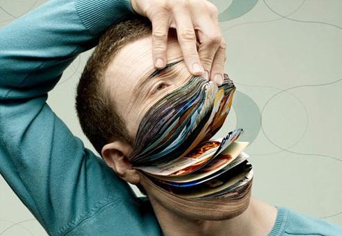 If your face was actually a facebook