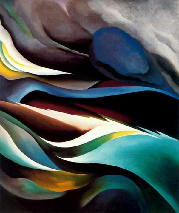 From the Lake by Georgia O' Keeffe