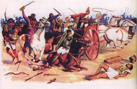 خطاب به ژنرال رومی:اگر در دست من مو مى بینید، ایران را خواهید دید
