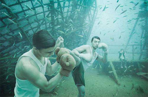 گالری در زیر آب