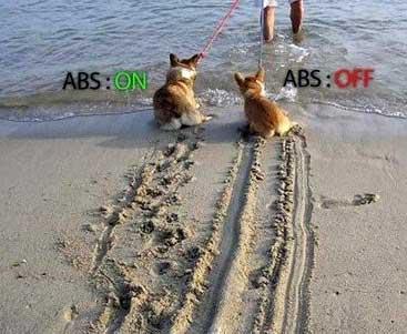 ترمز ABS (طنز)