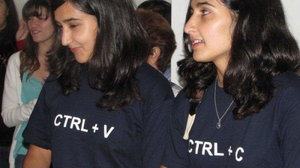 تی شرت برای دوقلوها,copy and paste
