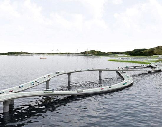 احمقانه ترین پل به هم تابیده