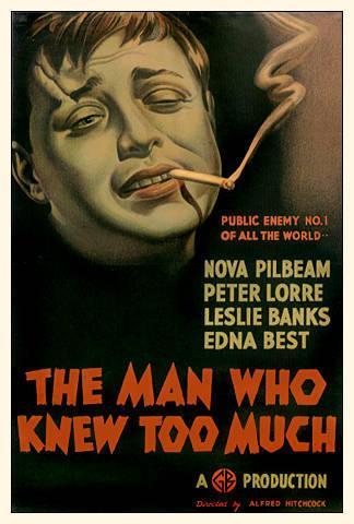 مرد که زیاد می دانست (The Man Who Knew Too Much) محصول 1934
