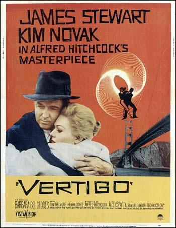 سرگیجه (Vertigo) محصول 1958