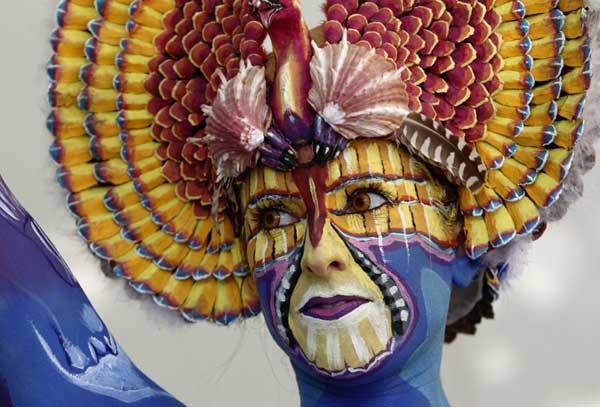 فستیوال نقاشی بدن در اتریش (5)