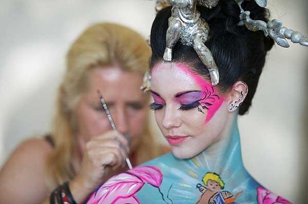 فستیوال نقاشی بدن در اتریش (1)