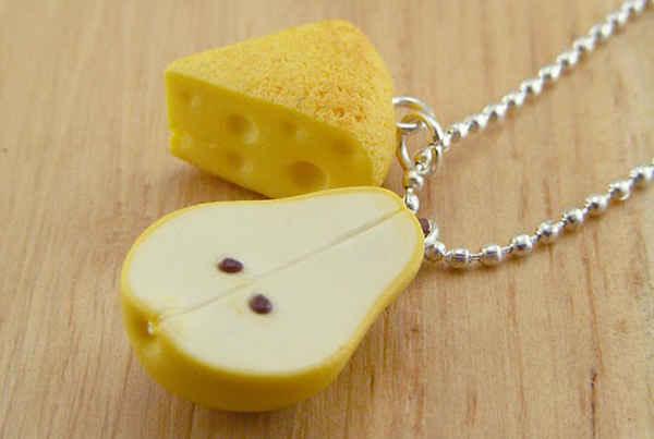 جواهرات خلاقانه با شکل خوردنی ها