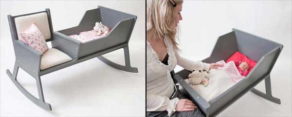 صندلی گهواره ای مدرن با سیستم لالایی جالب در جهت رفاه حال مادران! (1)