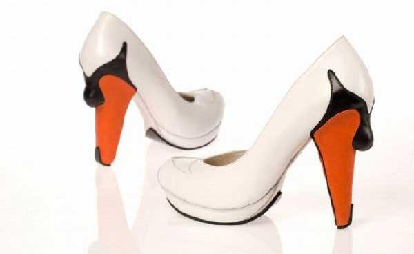 کفش های زنانه فوق العاده زیبا با طرح های ابتکاری