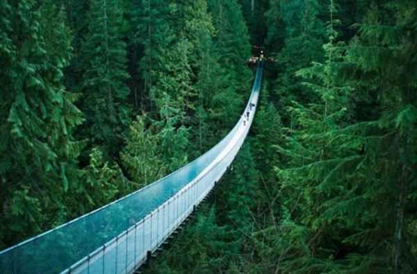 پل معلق - ونکوور کانادا
