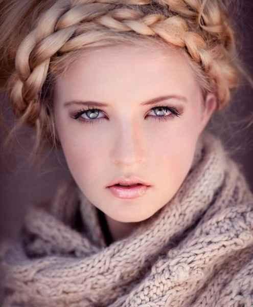 مدل موهای بافته شده بسیار زیبا