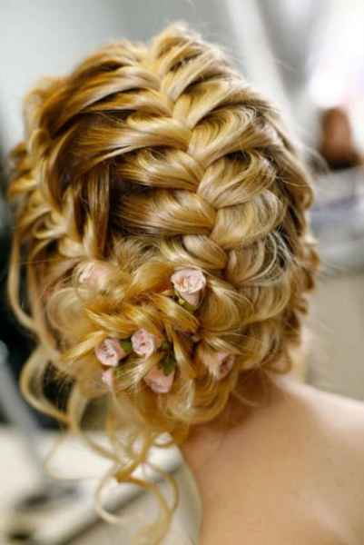 مدل موهای بافته شده بسیار زیبا (6)