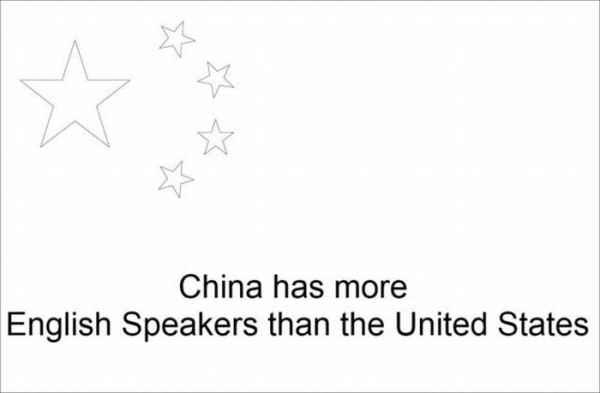 تعداد انسانهایی که انگلیسی صحبت می کنند در چین بیشتر از آمریکاست