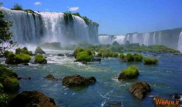 آبشار Iguazu (برزیل، آرژانتین)