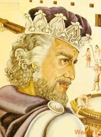 حکایت پادشاه و پیرمرد ژنده پوش