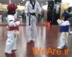 زیباترین مبارزه تکواندو جهان (ویدئو)
