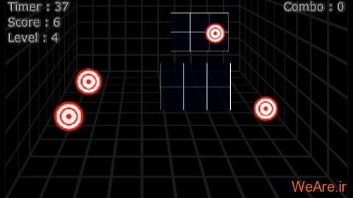 بازی آنلاین تیراندازی ۳D Target Shooting
