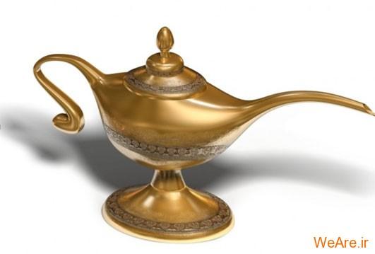 اشیاء جادویی- چراغ جادوی علاءالدین (Magic Lamp)