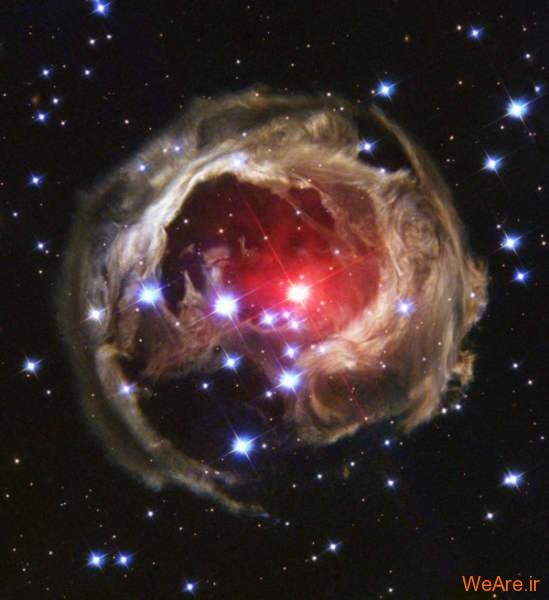 ابر ستاره v838