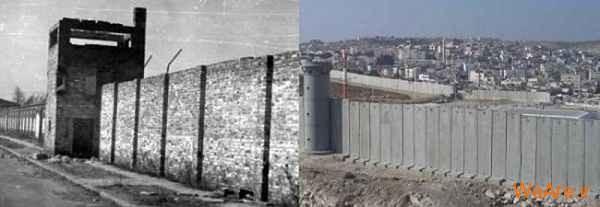 مقایسه جنایات هیتلر و صهیونیست ها (1)