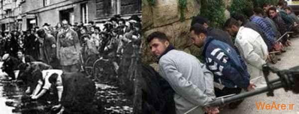 مقایسه جنایات هیتلر و صهیونیست ها (10)