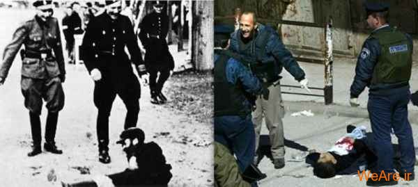 مقایسه جنایات هیتلر و صهیونیست ها (12)