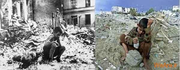 مقایسه جنایات هیتلر و صهیونیست ها (15)