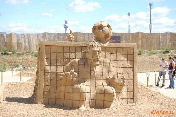 مجسمه های شنی تحسین برانگیز (8)