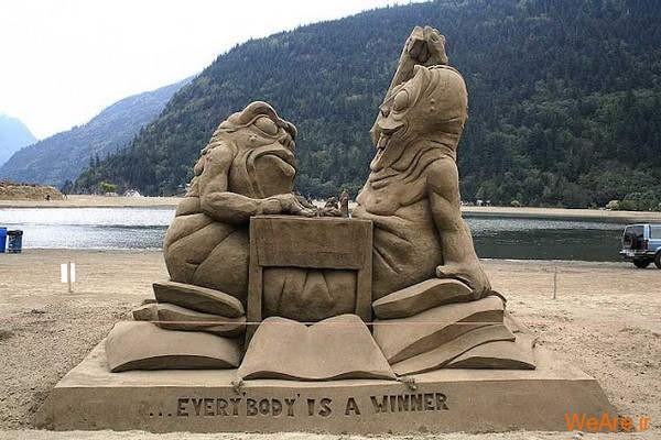 مجسمه های شنی تحسین برانگیز (6)