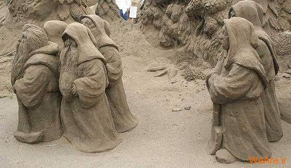 مجسمه های شنی تحسین برانگیز (5)