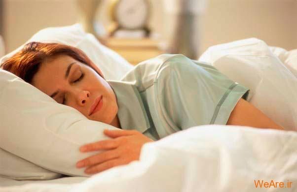 خواب یک زن