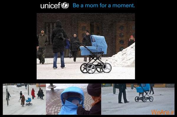 تبلیغ یونیسف- یک مادر برای یک لحظه