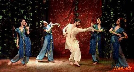 هنرنمایی شاهرخ مشکین قلم در اجرای زهره و منوچهر