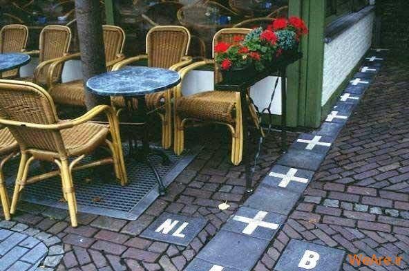 مرز زیبای بلژیک و هلند