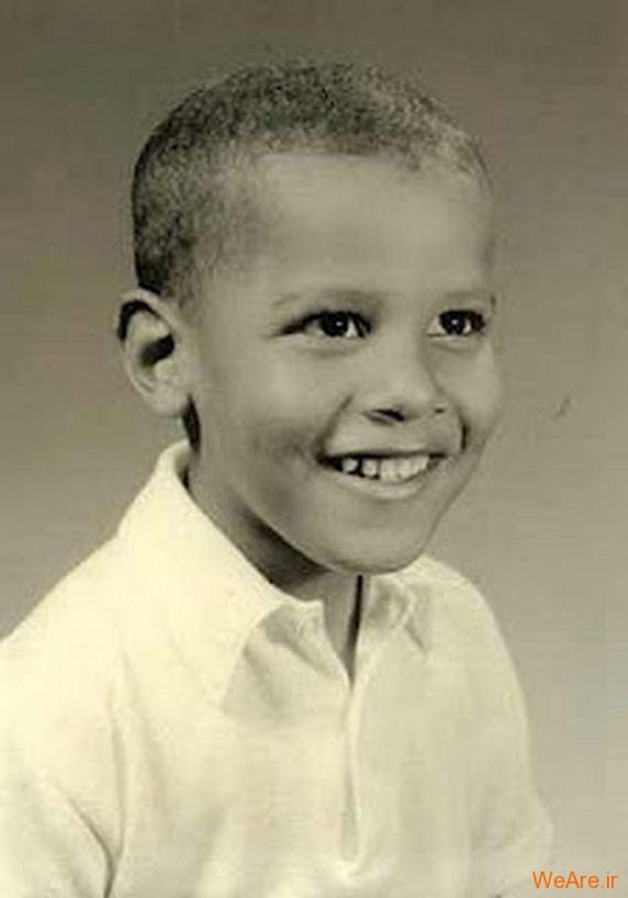 عکس بچگی اوباما (18)