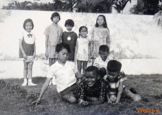 عکس بچگی اوباما (17)