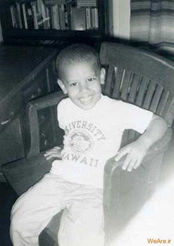 عکس بچگی اوباما (16)