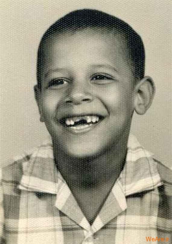 عکس بچگی اوباما (10)